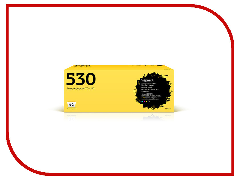 Картридж T2 Black для Color LaserJet CP2025n/CP2025dn/CM2320n MFP/CM2320nf MFP/CM2320fxi MFP/Canon i-SENSYS LBP7200Cdn Cartrige 718Bk 3500стр. TC-H530 картридж для мфу t2 tc h78a black