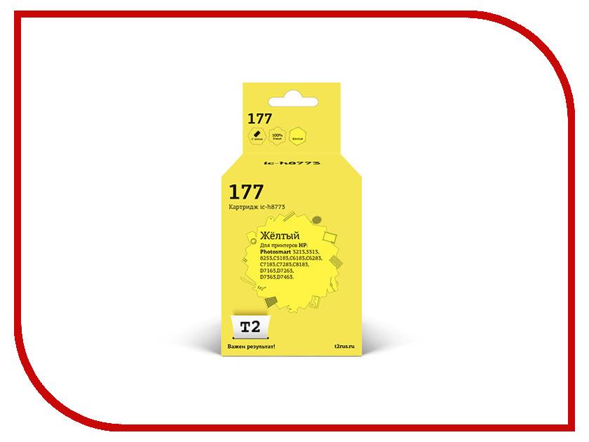 цена на Картридж T2 Yellow для Photosmart 3213/3313/8253/C5183/C6183/C6283/C7183/C7283/C8183/D7163/D7263/D7363/D7463 IC-H8773