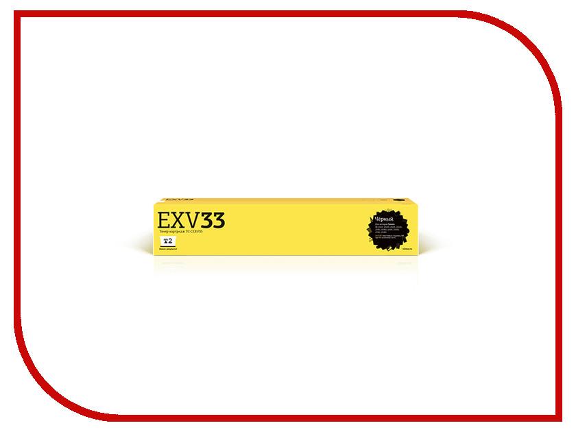 Картридж T2 Black для iR-2520/2520i/2525/2525i/2530/2530i/2535/2535i/2545/2545i 14600стр. TC-CEXV33 картридж easyprint c exv33 для canon ir 2520 2525 2530 2535 2545 черный 14600стр