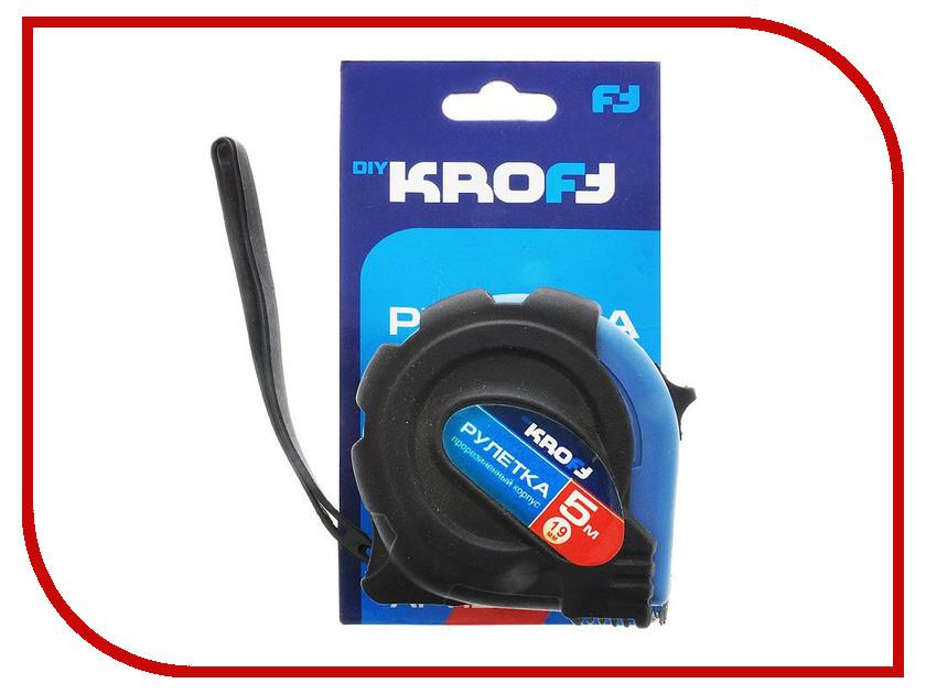 Рулетка Kroft 5m x 19mm 202059 рулетка kroft 202094