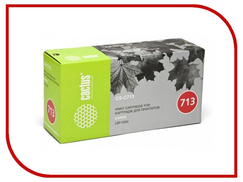 все цены на Картридж Cactus Black для i-Sensys 3250 2000стр. CS-C713S онлайн