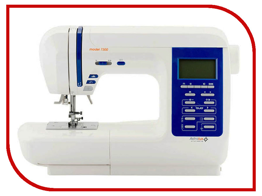 Швейная машинка Astralux 7300 Pro Series швейная машинка astralux 156
