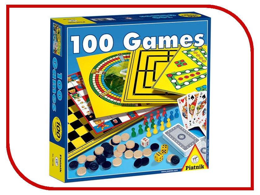 Настольная игра Piatnik 100 игр 780196 настольная игра для вечеринки piatnik тик так бумм вечеринка 737497