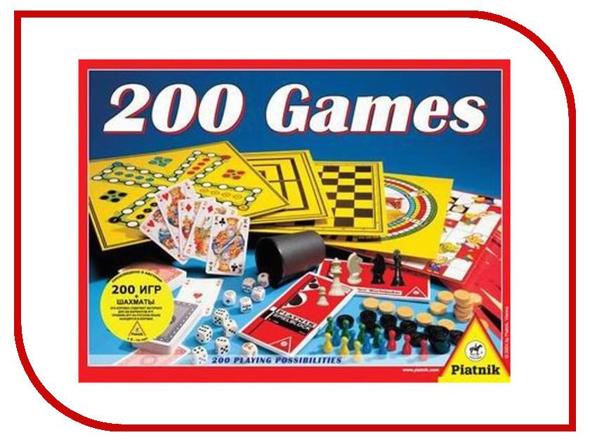 Настольная игра Piatnik 200 игр+шахматы 780233 piatnik 738692
