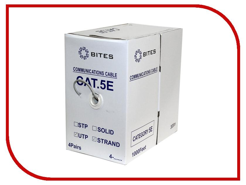 Сетевой кабель 5bites UTP / STRANDED / 5E / 24AWG / CCA / PVC / 305M UT5725-305A цена