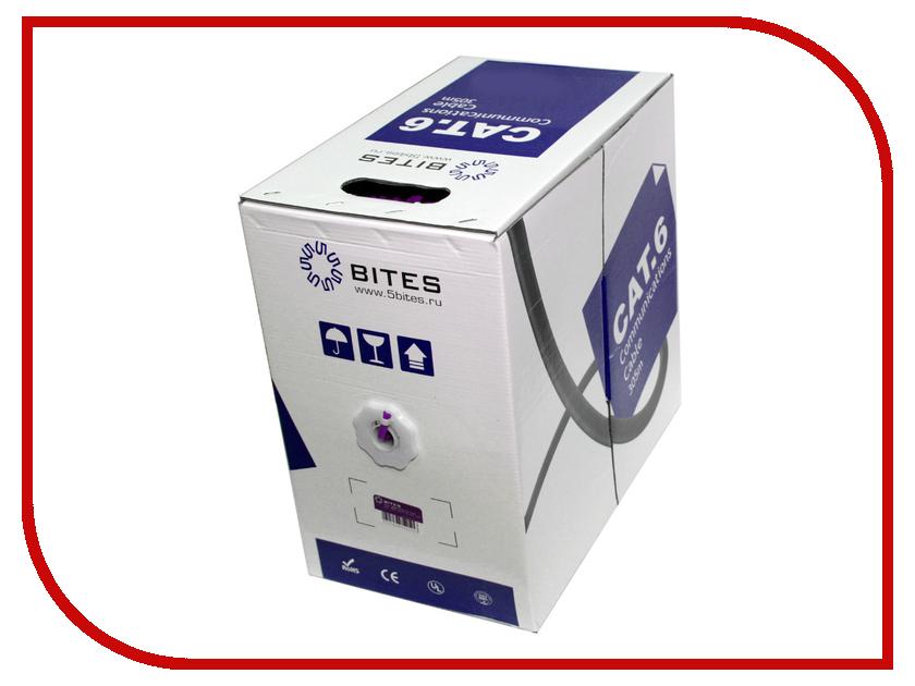 Сетевой кабель 5bites UTP / SOLID / 6CAT / 23AWG / CCA / PVC / 305M US6575-305A-BL аксессуар 5bites utp solid 5e cca ccs pvc 305m us5400 305s