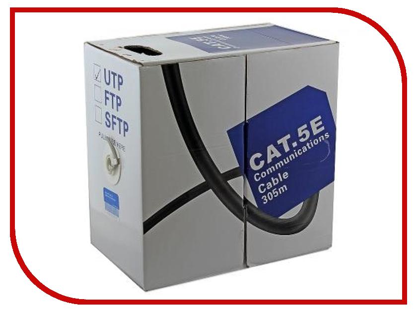Сетевой кабель 5bites UTP / SOLID / 5E / CCA+CCS / PVC / 305M US5400-305S yec ccs pcu