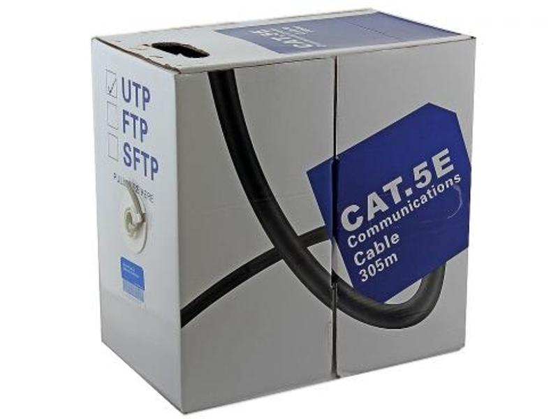 Сетевой кабель 5bites UTP / SOLID 5E CCA+CCS PVC 305M US5400-305S