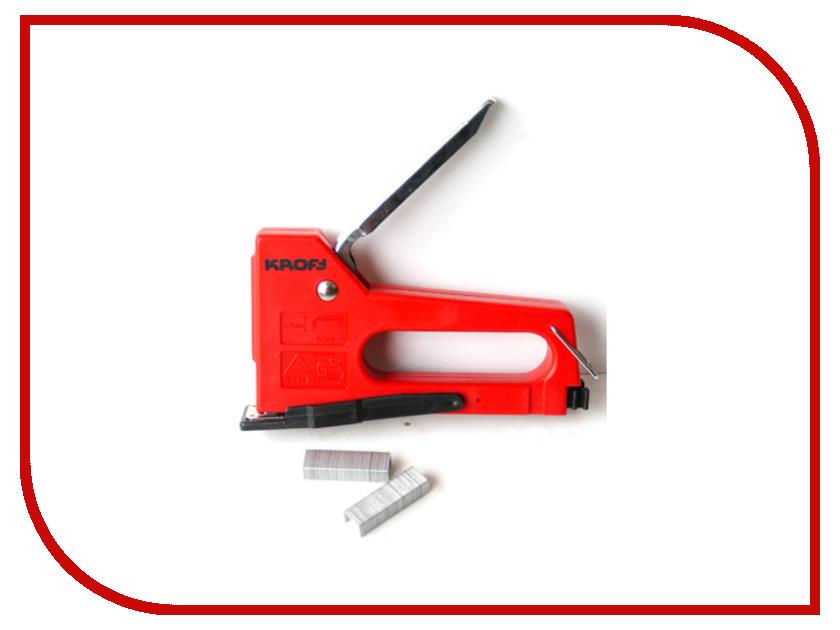 Степлер Kroft 4-8mm 202030 степлер мебельный gross 41001