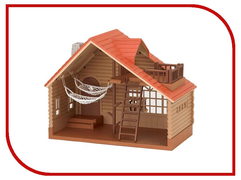 Кукольный домик Sylvanian Families Коттедж 4370 sylvanian families sylvanian families игровой набор коттедж