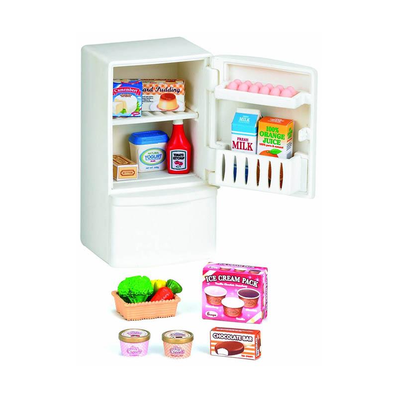 Игровой набор Sylvanian Families Холодильник с продуктами 5021