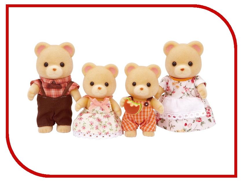 Игрушка Sylvanian Families Семья Медведей 5059 sylvanian families набор фигурок семья белок