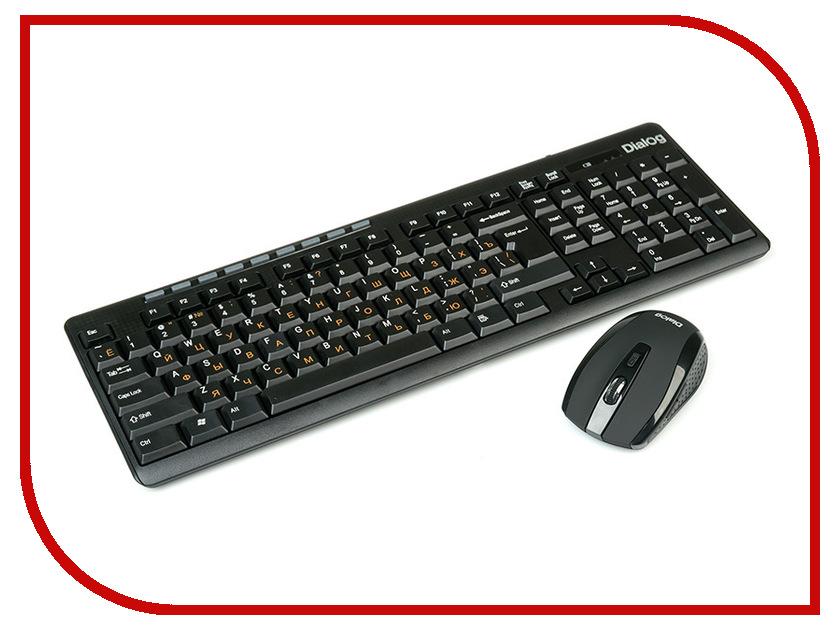 Набор Dialog KMROP-4020U Black USB