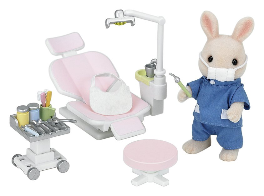 Игровой набор Sylvanian Families Кролик-стоматолог 5095 фото