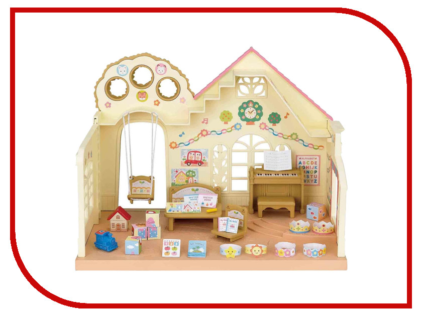 Игровой набор Sylvanian Families Лесной детский сад 5100 / 3587 sylvanian families холодильник с продуктами новый
