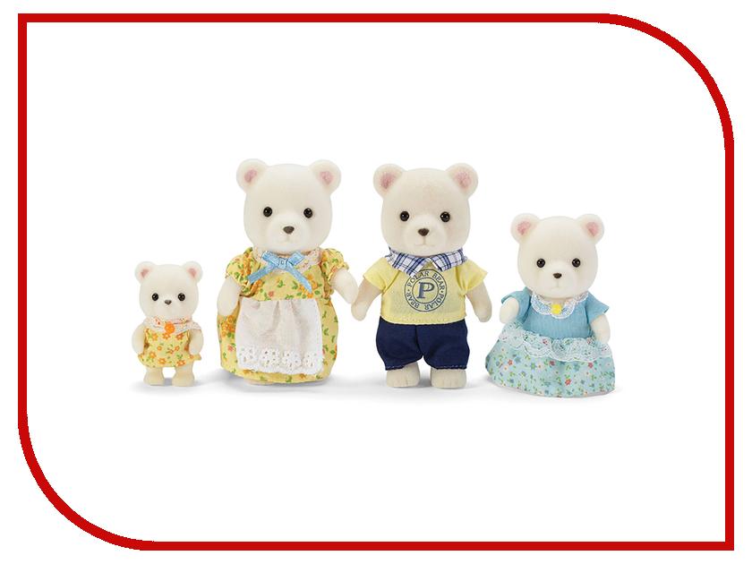 Игрушка Sylvanian Families Семья Белых Медведей 5183 набор village story семья белых мишек