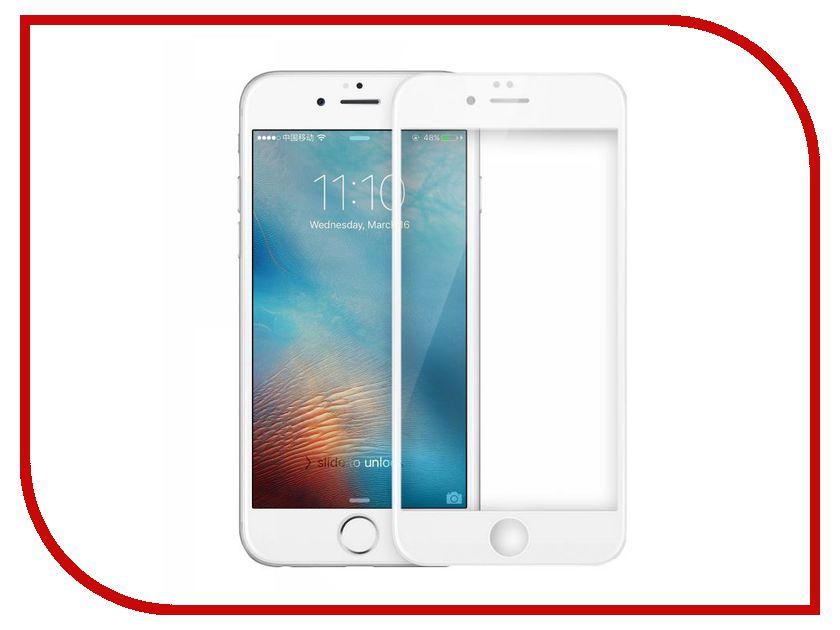 Аксессуар Защитное стекло Dotfes E04 Full Coverage для iPhone 7 Plus White 20409