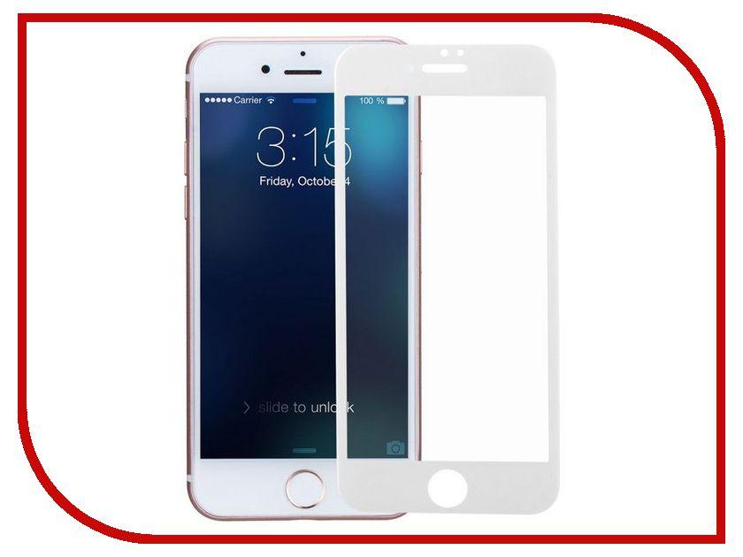 Аксессуар Защитное стекло Dotfes E04 Full Coverage для iPhone 7 White 20407 аксессуар dotfes microusb a09m self rolling 0 8m grey 14769
