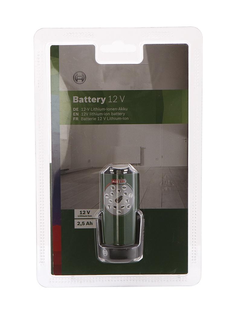 Аккумулятор Bosch 12 LI 2.5Ah 1600A00H3D
