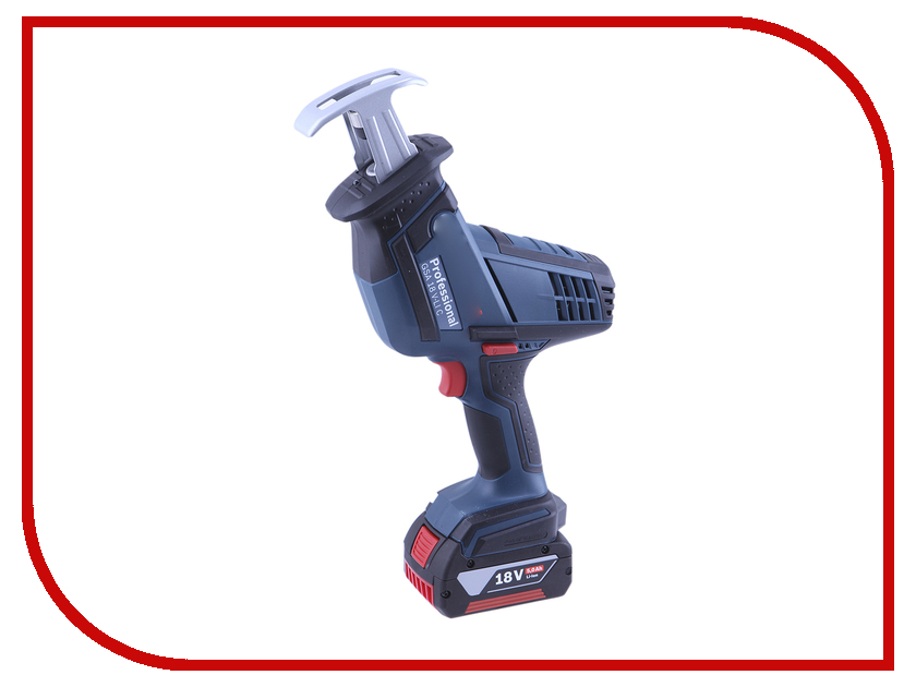Пила Bosch GSA 18 V-LI C 06016A5002 аккумуляторная сабельная ножовка bosch gsa 10 8v li 0 601 64l 902