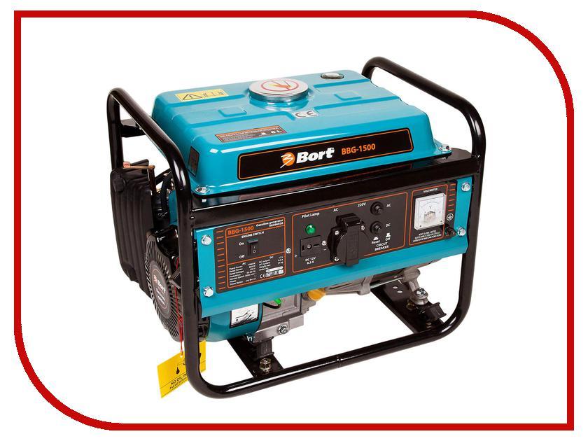 Электрогенератор Bort BBG-1500 генератор бензиновый bort bbg 6500