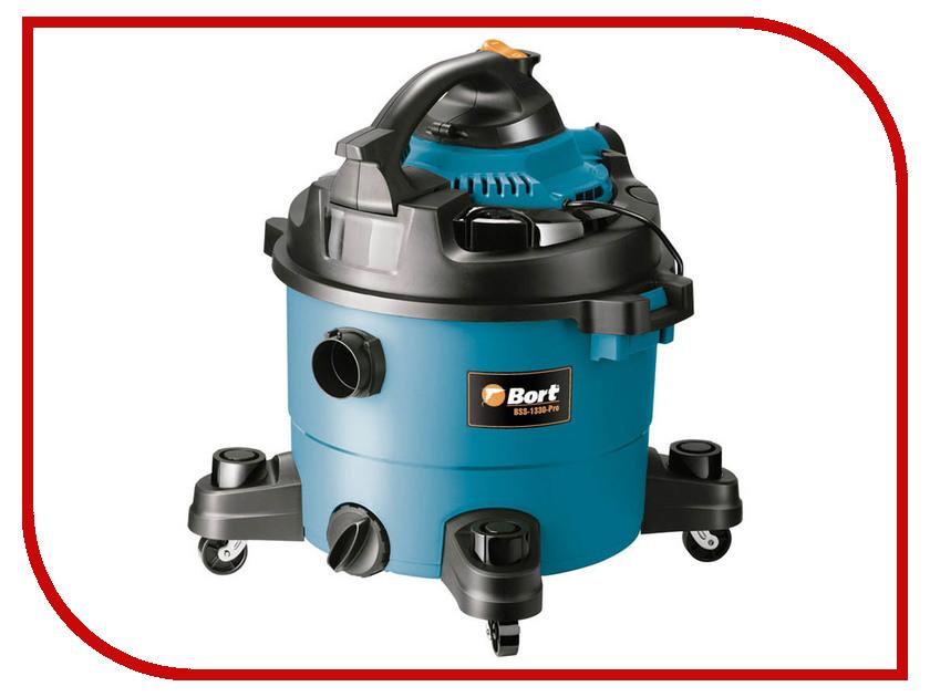 Пылесос Bort BSS-1330-Pro  промышленный пылесос bort bss 1530 pro