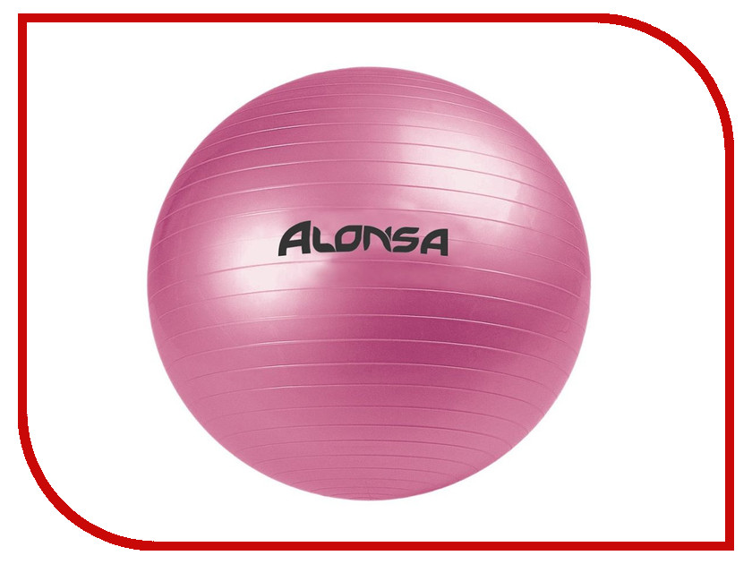 Мяч Alonsa AS4 RG-2 65cm Pink<br>