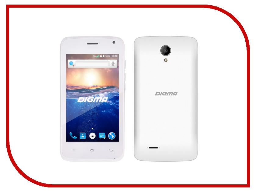 Сотовый телефон Digma HIT Q400 White сотовый телефон digma linx a501 4g black