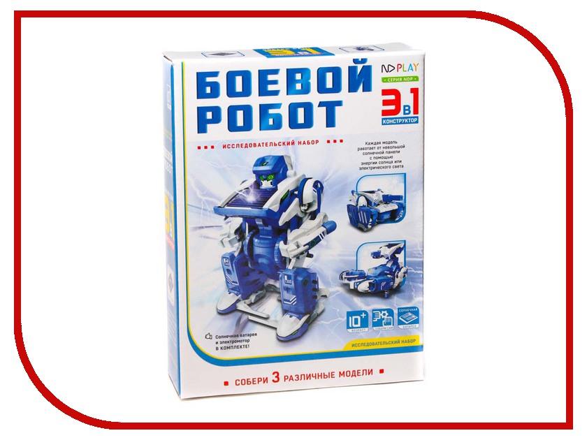 Конструктор ND Play Боевой робот 265 614 конструктор nd play автомобильный парк 265 608