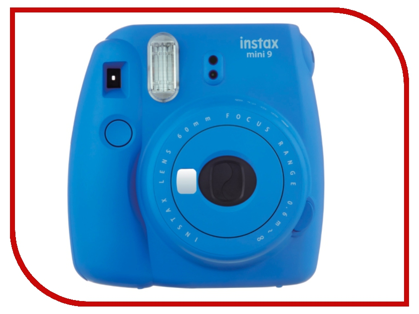 Фотоаппарат Fujifilm Instax Mini 9 Cobalt Blue brand new fujifilm instax camera mini 90s black instant mini film camera free shipping