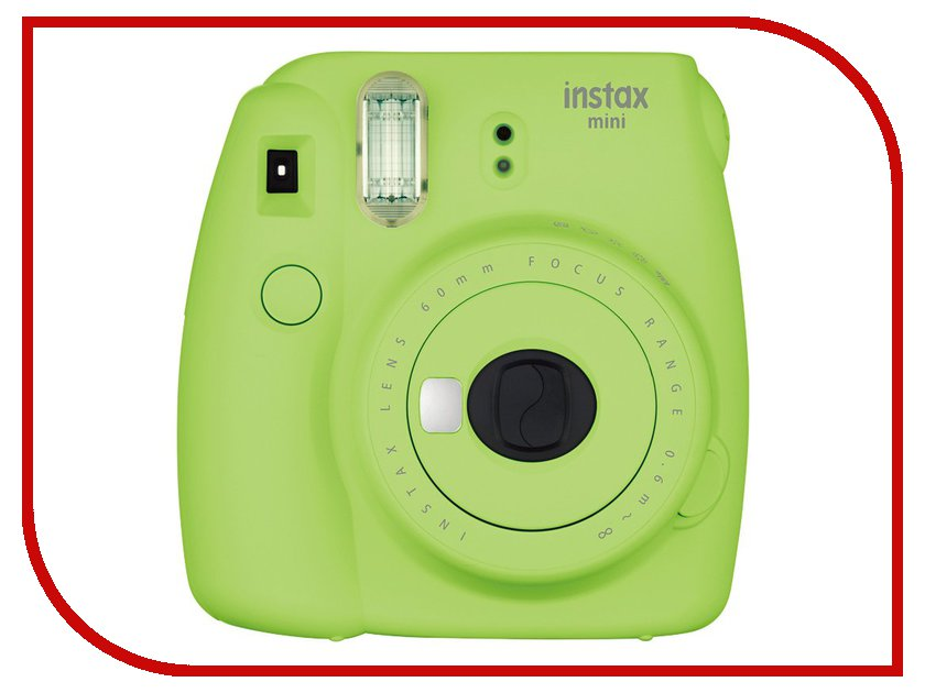 Фотоаппарат Fujifilm Instax Mini 9 Lime Green brand new fujifilm instax camera mini 90s black instant mini film camera free shipping