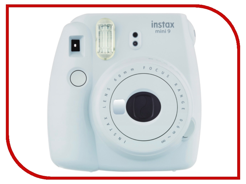 Фотоаппарат FujiFilm Instax Mini 9 Smoky White fujifilm instax mini 70