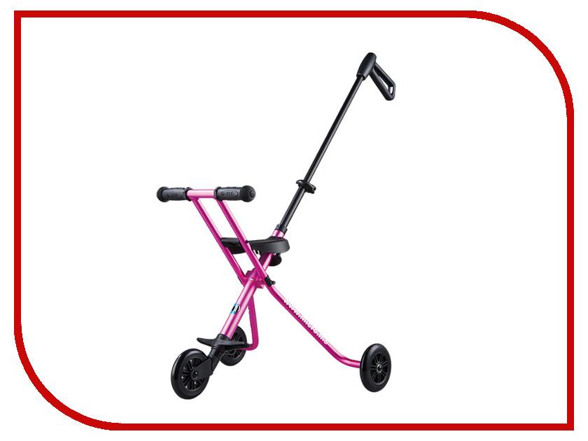 Самокат Micro Trike Deluxe Pink