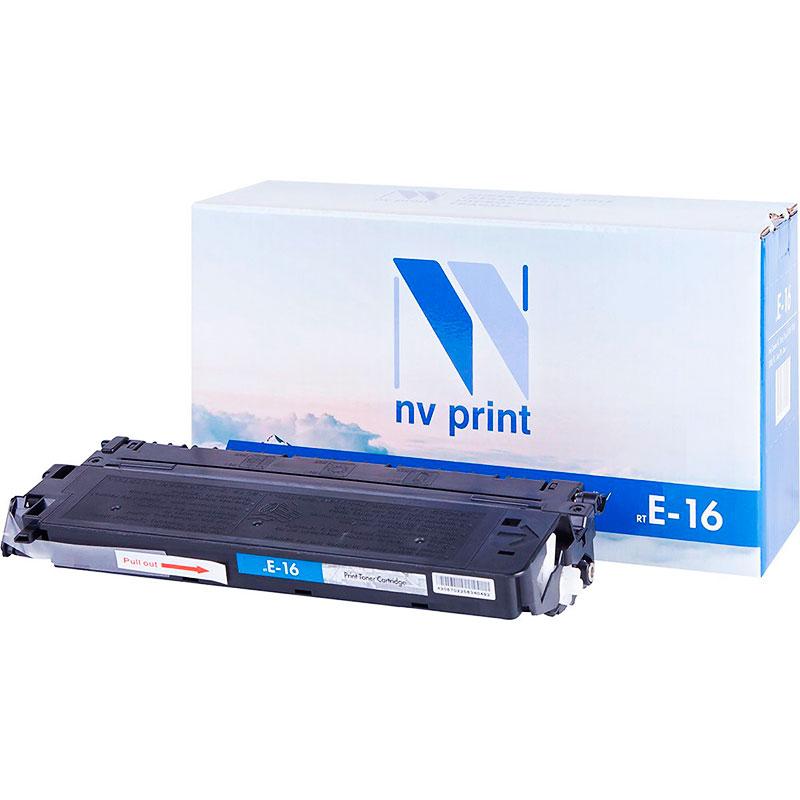 Картридж NV Print E-16 для FC-2xx/3xx/530/108/208/PC-7xx/PC-8xx 2000k