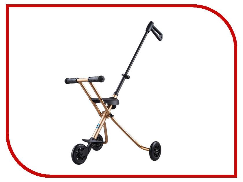 Самокат Micro Trike Deluxe Gold