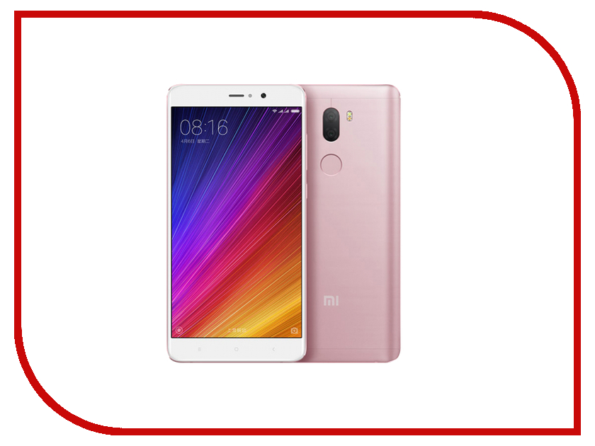 Сотовый телефон Xiaomi Mi5S Plus 64Gb Pink телефон xiaomi mi 2 s