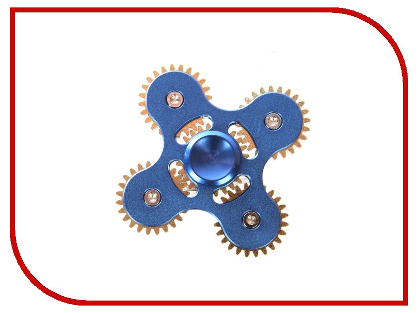 Спиннер Red Line Spinner Шестеренки металлический Blue
