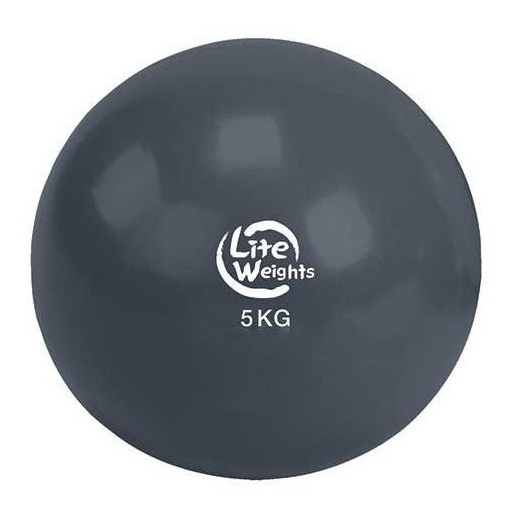 Медбол Lite Weights 5кг Anthracite 1705LW