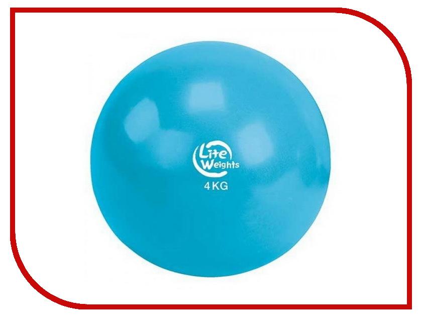 Медбол Lite Weights 4кг Light Blue 1704LW 6pcs power drill