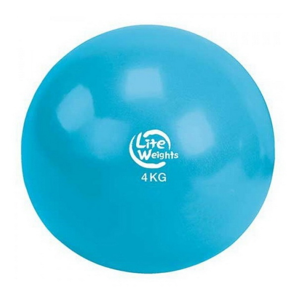 Медбол Lite Weights 4кг Light Blue 1704LW