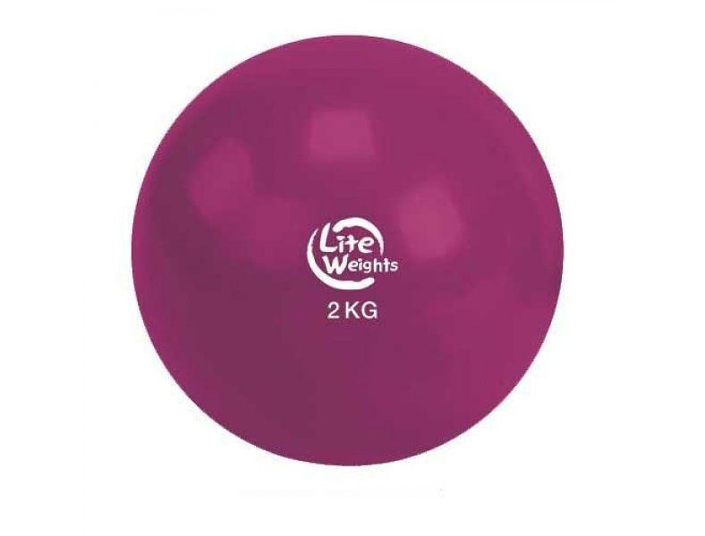 Медбол Lite Weights 2кг Cherry 1702LW