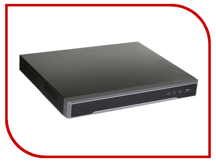 Видеорегистратор Hikvision DS-7616NI-K2/16P коммутатор zyxel es1100 16p es1100 16p eu0102f