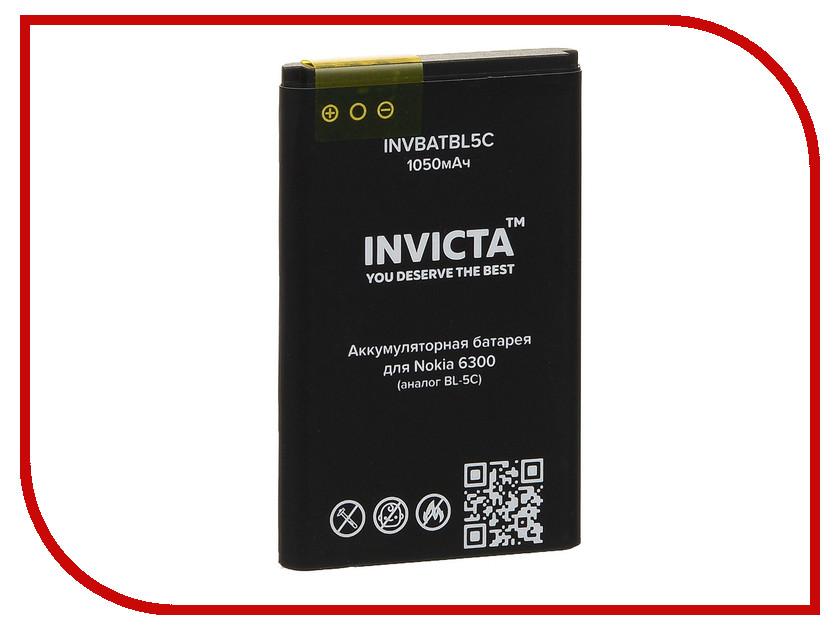 где купить Аксессуар Аккумулятор Nokia 6300 1050mAh INVICTA INVBATBL5C по лучшей цене