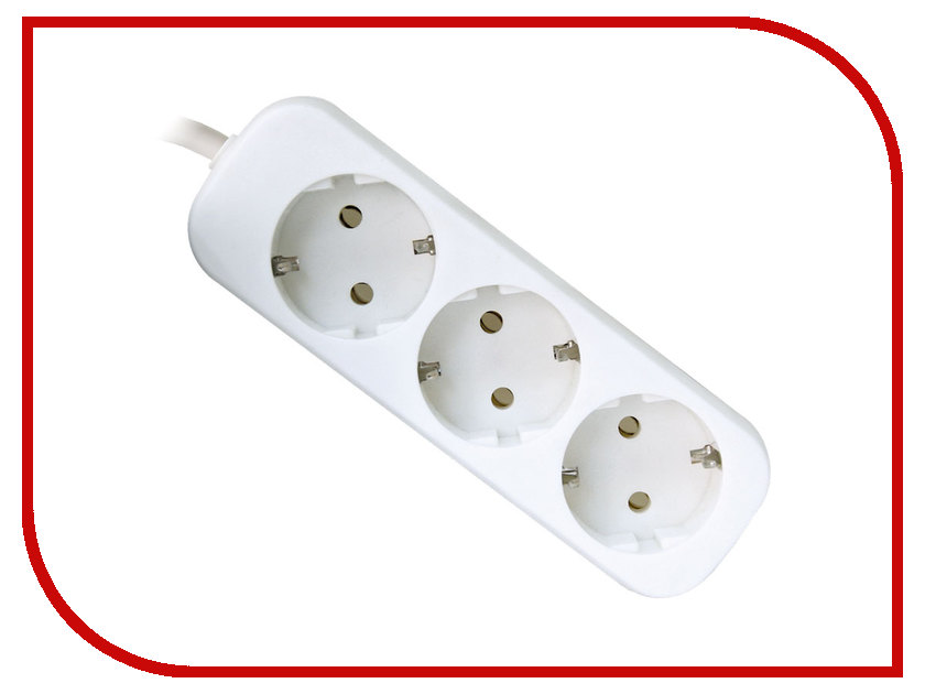 Сетевой фильтр Defender E330 3 Sockets 3.0m 99222