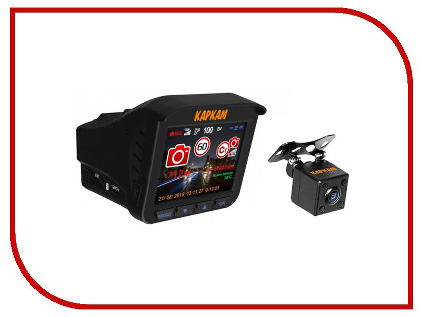 Видеорегистратор Каркам CarCam Комбо 3S комбо усилители kustom kg110