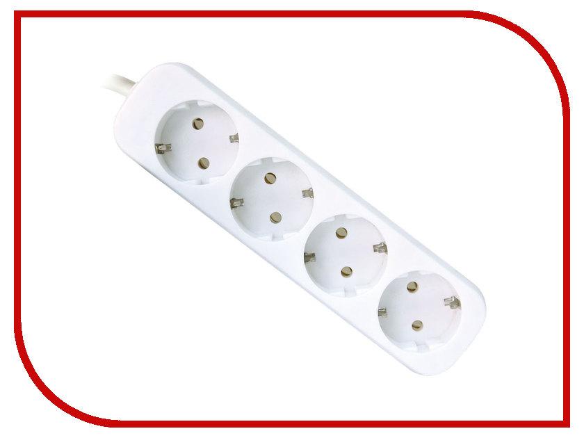 Сетевой фильтр Defender E418 4 Sockets 1.8m 99225
