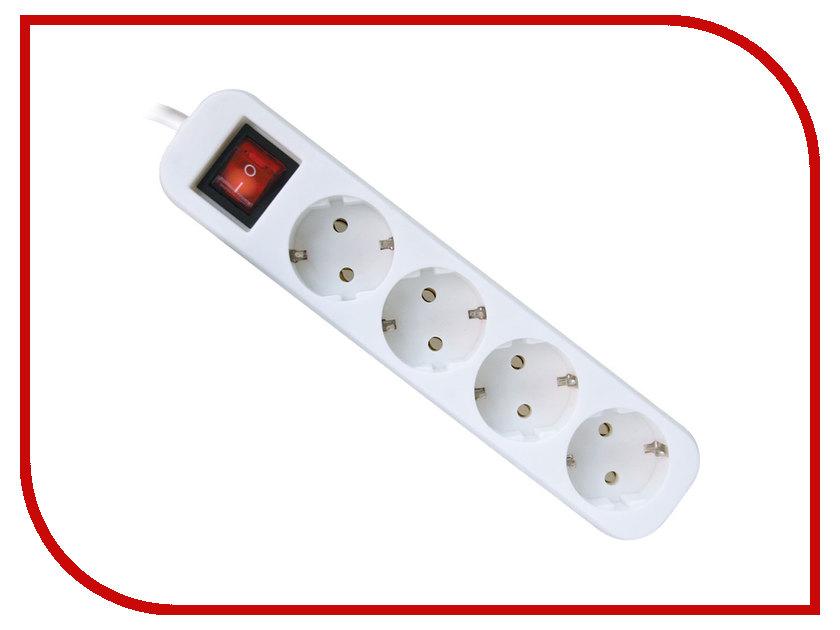 Сетевой фильтр Defender S418 4 Sockets 1.8m 99237