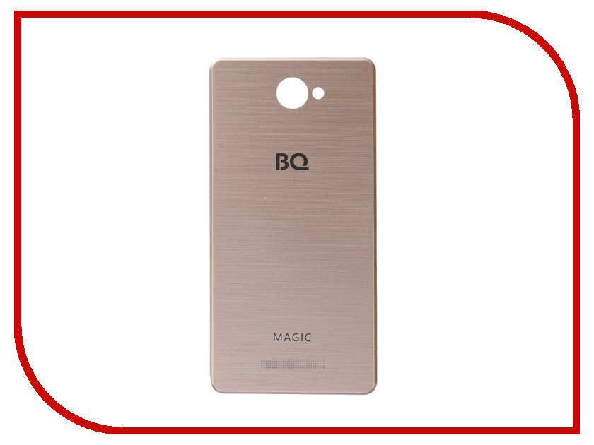 Аксессуар Чехол BQ BQS-5070 Magic Gold сотовый телефон bq bqs 5070 magic lte brown