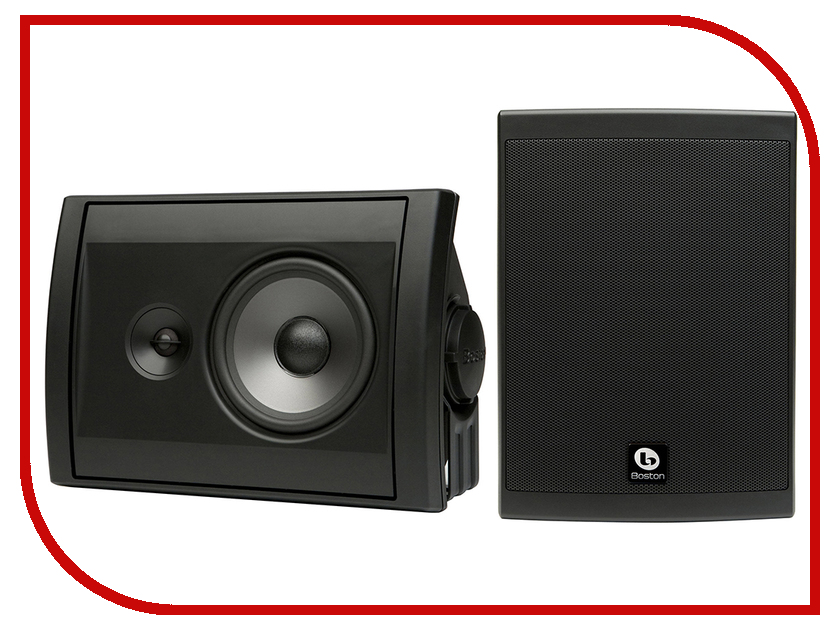 встраиваемая акустика speakercraft asm56601 Всепогодная акустика Boston Acoustics Voyager 50 Black