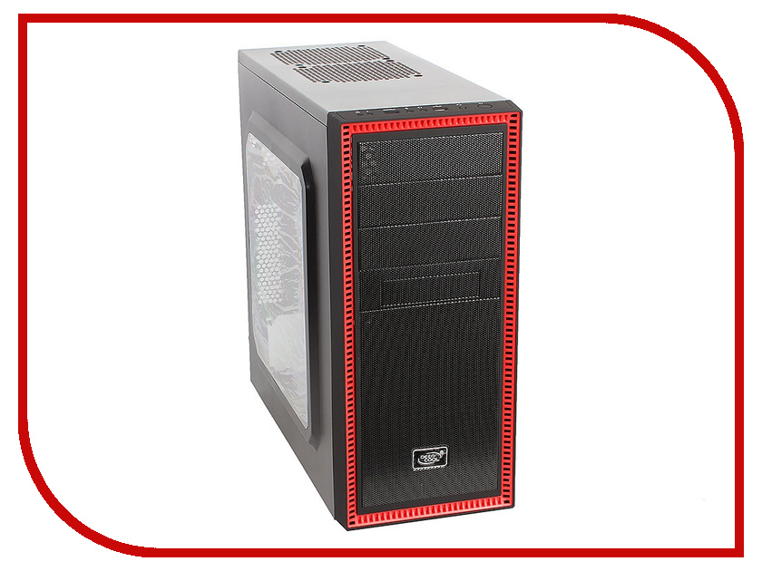 Корпус DeepCool Tesseract SW Red